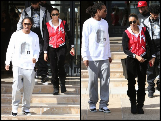 Spotted: Ciara and Future Hits Up Barney's Beverly Hill's (1)