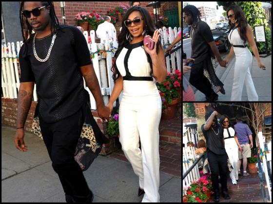 Spotted: Ashanti Has Lunch At The Ivy In L.A. (1)